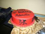 Cake courtesy of Brenda's Cakes