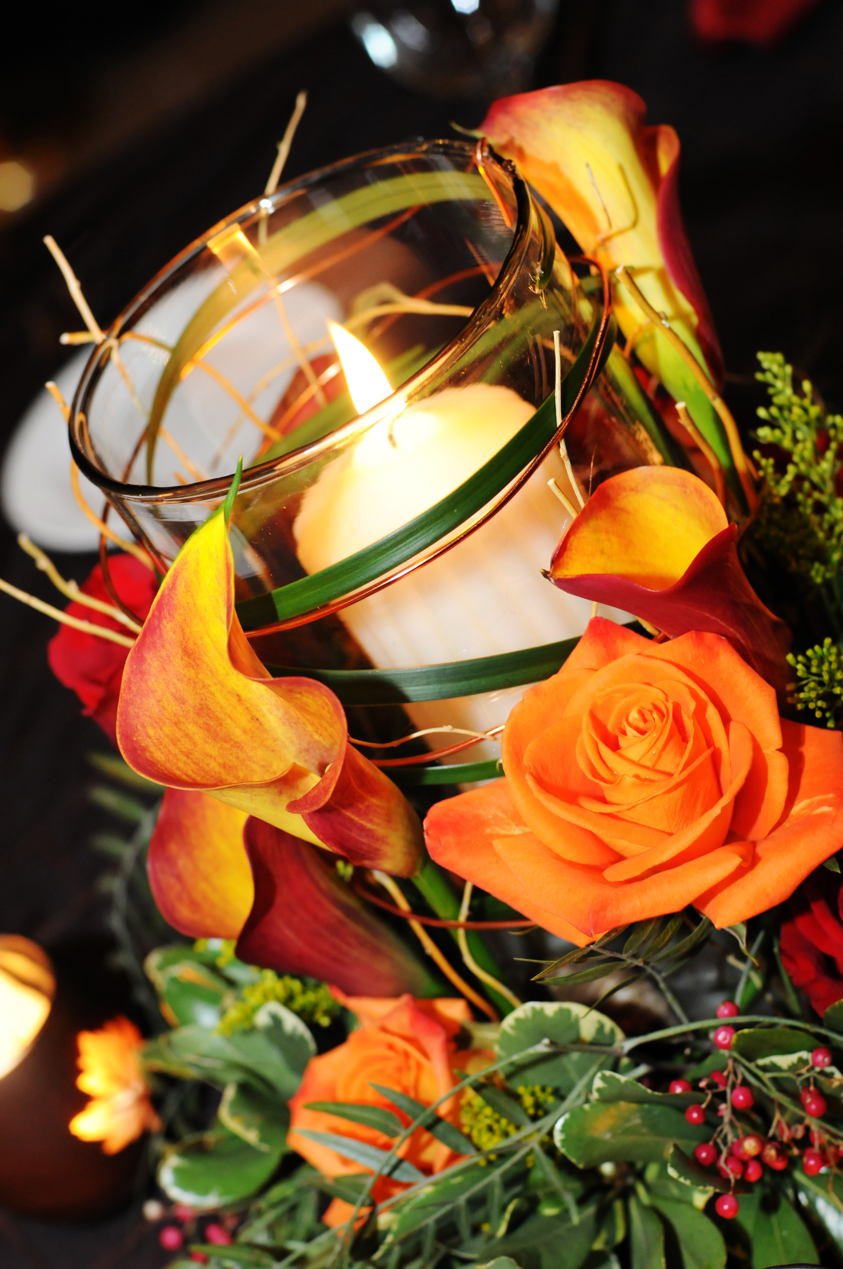 Fall Wedding Centerpieces Deborah Sheeran Weddings Of Distinction