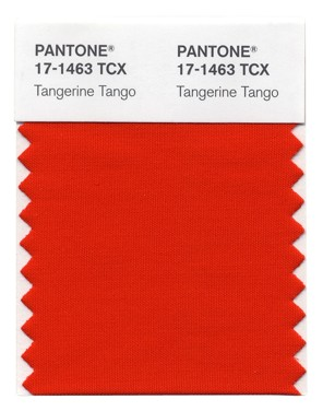 Announcing the 2012 Pantone Color of the Year - Tangering Tango!